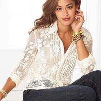Silvie Lace Shirt