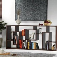 Sydney Unique Wood Bookcase and Display Stand