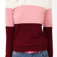 Tri-Color Sweater | FOREVER21 - 2030186545