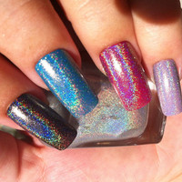 SpectraFlair Holographic Top Coat - 12ml