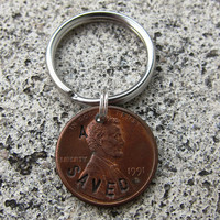 A Penny Saved  Hand Stamped Penny choice by DesignByAnyOtherName