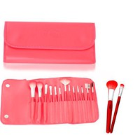 Fash Professional makeup nylon Brush Set, 13pc, For Eye Shadow, Blush, Eyeliner, eyebrow
