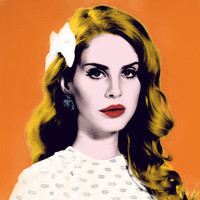 Lana Del Rey Art Print by Mahdi Chowdhury | Society6