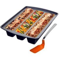Amazon.com: Lasagna Trio Pan: Kitchen &amp; Dining