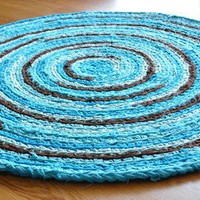 EKRA Custom Made Crochet Rug 35 feet by ekra on Etsy