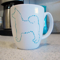 Akita Mug by FuzzyTailDesigns on Etsy
