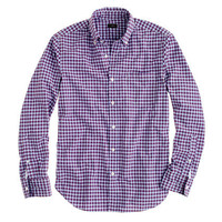 Secret Wash shirt in vibrant check