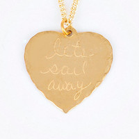 In God We Trust Sweet Nothings Necklace - Let's Sail Away $40