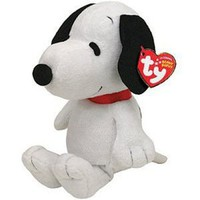 Amazon.com: Ty Beanie Baby Snoopy with Sound: Toys & Games