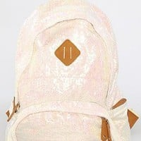 Amazon.com: Nila Anthony The Iridescent Backpack in White: Clothing