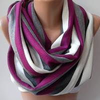 NEW Elegant and classy ...Infinity Scarf Loop Scarf Circle Scarf