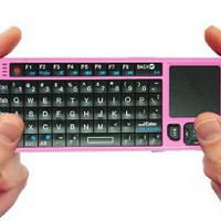 FAVI Entertainment Mini Wireless Keyboard with Touchpad (FE01-P)