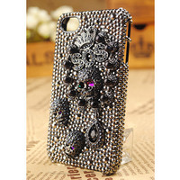 iPhone4S 4G 3GS Skull Protective Crystals Case Cover by buymegift