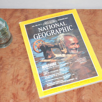Vintage National Geographic Magazine Vol. 166, No. 6 December 1984