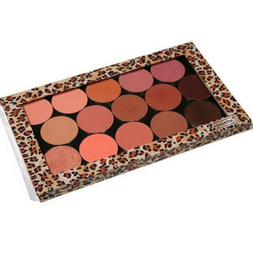 Z Palette, Customizable Magnetic Empty Makeup Palette, Leopard - Large Palette