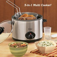 5-in-1 Multi-Cooker - Fresh Finds - Cooking > Cooking & Baking