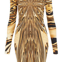 Graphic Print Bodycon Dress - Galactica  - Collections
