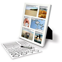 Comic Strip Photo Frame - Lazybone