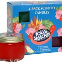 Amazon.com: Jolly Rancher by Hanna's Candle 4-Pack Jolly Rancher Sampler Candle: Home & Kitchen
