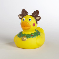Reindeer Rubber Duck
