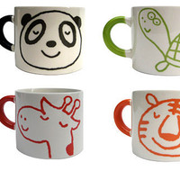 Apartment 48 - Shop - Kitchenware - Animal Portrait Mugs - Home Furnishings and Interior Design - New York City