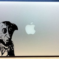 Harry Potter - Dobby - Vinyl Macbook / Laptop Decal Sticker Graphic