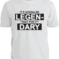 LEGENDARY HOW I MET YOUR MOTHER T-SHIRT! NEW! BARNEY STINSON TED MOSBY MARSHALL