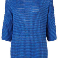 Knitted Plain Grill Sweat - Knitwear  - Clothing