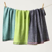 Dappled Dots Dishtowels - Anthropologie.com
