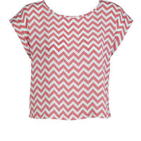 Zigzag Short-Sleeve