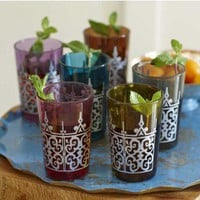 Moroccan Tea Glasses - VivaTerra