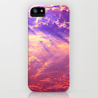 Cotton Candy Sunset Clouds  iPhone Case by Katex0makeup | Society6