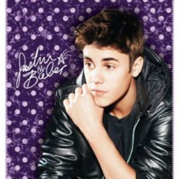 Amazon.com: Justin Bieber Vintage Fleece Throw Blanket: Home & Kitchen