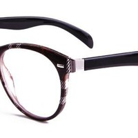 Ellie Eyeglasses with Multicolour Plastic Aviator Full Frame/Rim Frame