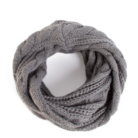 Twist Knit Infinity Scarf - 2020AVE