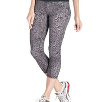 Ideology Leggings, Animal-Print Active Capris - Womens Active Pants - Macy's
