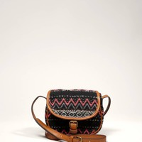 AEO Fair Isle Flap Bag | American Eagle Outfitters