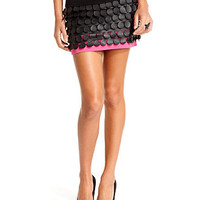 Baby Phat Juniors Skirt, Faux-Leather Paillette Mini - Juniors Skirts - Macy's