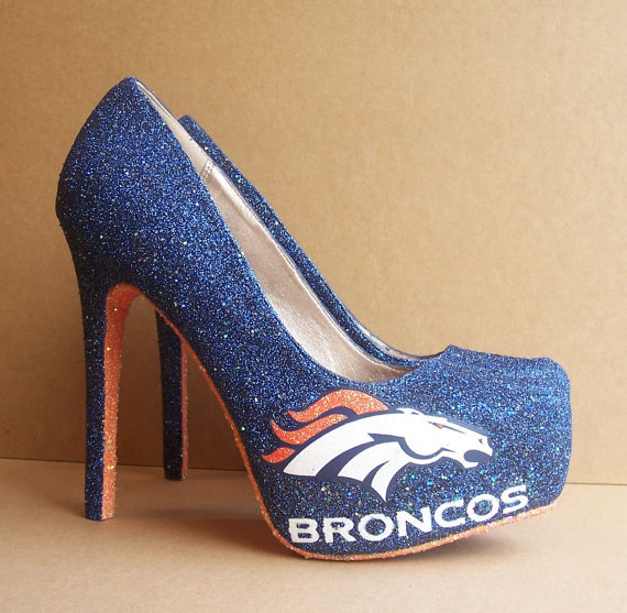 Denver Broncos High Heel Shoes