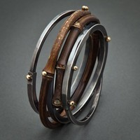 Bamboo Bracelets by Fred &amp; Janis Tate Designs