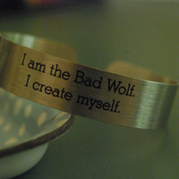 Doctor Who - I Create Myself Bracelet