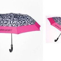 Amazon.com: Victoria's Secret 2012 Supermodel Limited Edition Umbrella Black White Pink: Patio, Lawn & Garden