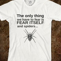 fear spiders  - glamfoxx.com