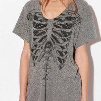 Truly Madly Deeply Pocket Skeletee Tee
