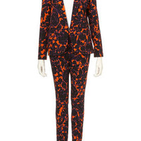 Co-ord Dandy Wallpaper Print Blazer and Trousers - Suits and Co-ords  - Clothing  - Topshop USA