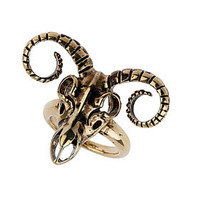 Ram Head Ring - Jewelry  - Accessories
