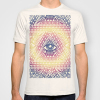 Native Illuminati T-shirt by Uprise Art & Design | Society6