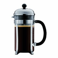 Amazon.com: Bodum Chambord 8 cup French Press Coffee Maker, 34 oz., Chrome: Kitchen & Dining