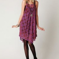 Free People Tangerine Hazy Days Dress at Free People Clothing Boutique