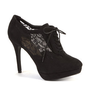 Black Lace Up Shoe Boots